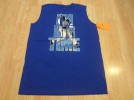 "Youth Boys Champion XL NWT ""I'm Big Time"" Shirt Blue - $9.49"