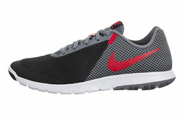 NIKE MEN'S FLEX EXPERIENCE RN 6 SHOES black red grey 881802 011 - $49.98