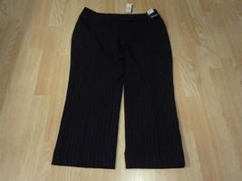 Women's New York & Co. Stretch Sz 6 NWT Crop Black Business Pants - $13.99