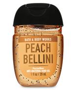 Bath & Body Works Pocketbac Hand Sanitizer Gel Peach Bellini Essential O... - $2.87