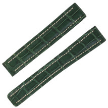 Breitling P137 15 -14 mm Genuine Green Alligator Leather Watch Band - $249.00