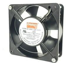DAYTON 3LE77 AC AXIAL FAN 75 CFM, 115V 60HZ, RPM 2100 AMPS 0.11 WATTS 10