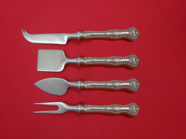 Charles II By Dominick & Haff Sterling Silver Cheese Serving Set 4pc HHWS Custom - $606.20