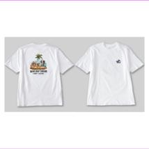 Tommy Bahama Howliday Cheers Short-Sleeve Tee White M - $31.78