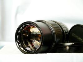 Olympus 75-150MM Zuiko Zoom Lens c/w Filter - MINT- OM10 OM40 OM1N OM2N ... - $40.00