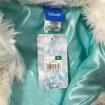 New Girls Disney Frozen Faux Fur Vest Size Medium 7 Costume Top Accent image 8