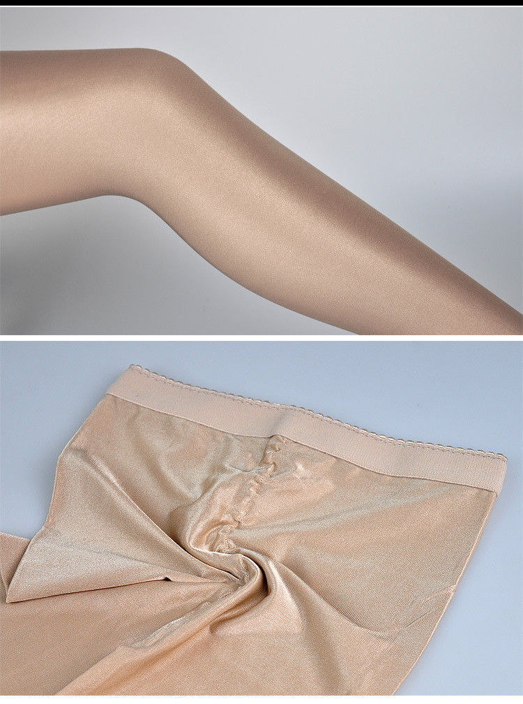 e03be57d8 100D Glossy Super Shiny Pantyhose Cheerleader Hooters Dancer Uniform  Stockings
