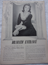 Crochet & Knitting Pattern Book 1950s - $2.99