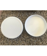 New White Plastic 89/400 White Polypropylene Caps 89mm FDA Approved with... - $1.05