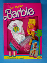 "198 CALIFORNIA BARBIE FASHION Fun in the Sun 4 Barbie & all 12"" dolls NR... - $11.88"