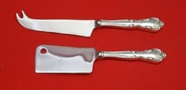 American Classic By Easterling Sterling Silver Cheese Serving Set HH 2pc Custom - $129.00