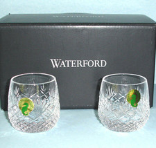 Waterford Crystal Sullivan Vodka Shooter 2 PC. Double Shot Glasses 2oz New - $79.90