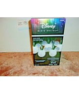 Disney Magic Holiday 25 Shimmering LED Mickey String Lights~White~New In Box - $49.99