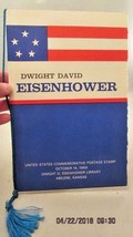David Eisenhower Commemorative Postage Stamp First Day Issue October 14,... - $5.89