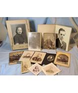 GRAB BAG- Lot of 10 Randomly Selected Vintage & Antique Photographs- Por... - $29.99