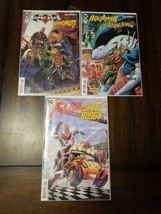 DC Hanna Barbera 3 comic lot #1s Supersons Dynomut Aquaman Flash Speed B... - $8.91