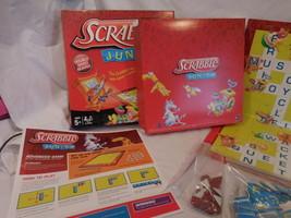 Hasbro Board Game Scrabble Junior 2012 - Double Sided Board - $14.02