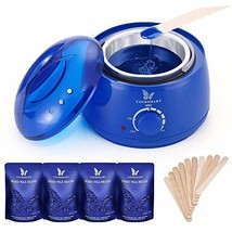 YOURSMART Waxing Kit - Wax Warmer Hair Removal for Women and Man Eyebrow, Face,