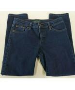 Lauren Jeans Co Womens Jeans Sz 4 Modern Straight Cropped 5 Pocket Stret... - $24.70