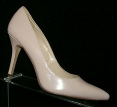 Nine West 'Flagship' pink man made pointed toe slip on pump heels 9M 7693 - $31.43