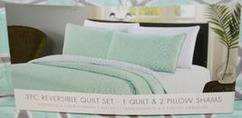 Kiki Collection BCSK25250 Three Piece Reversible Quilt Set image 5