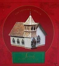 Sarah, Plain And Tall Collection: Country Church Scene (Hallmark) - $14.84