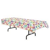 Beistle 80 Tablecover, 54 by 108-Inch, Multicolor - €7,87 EUR