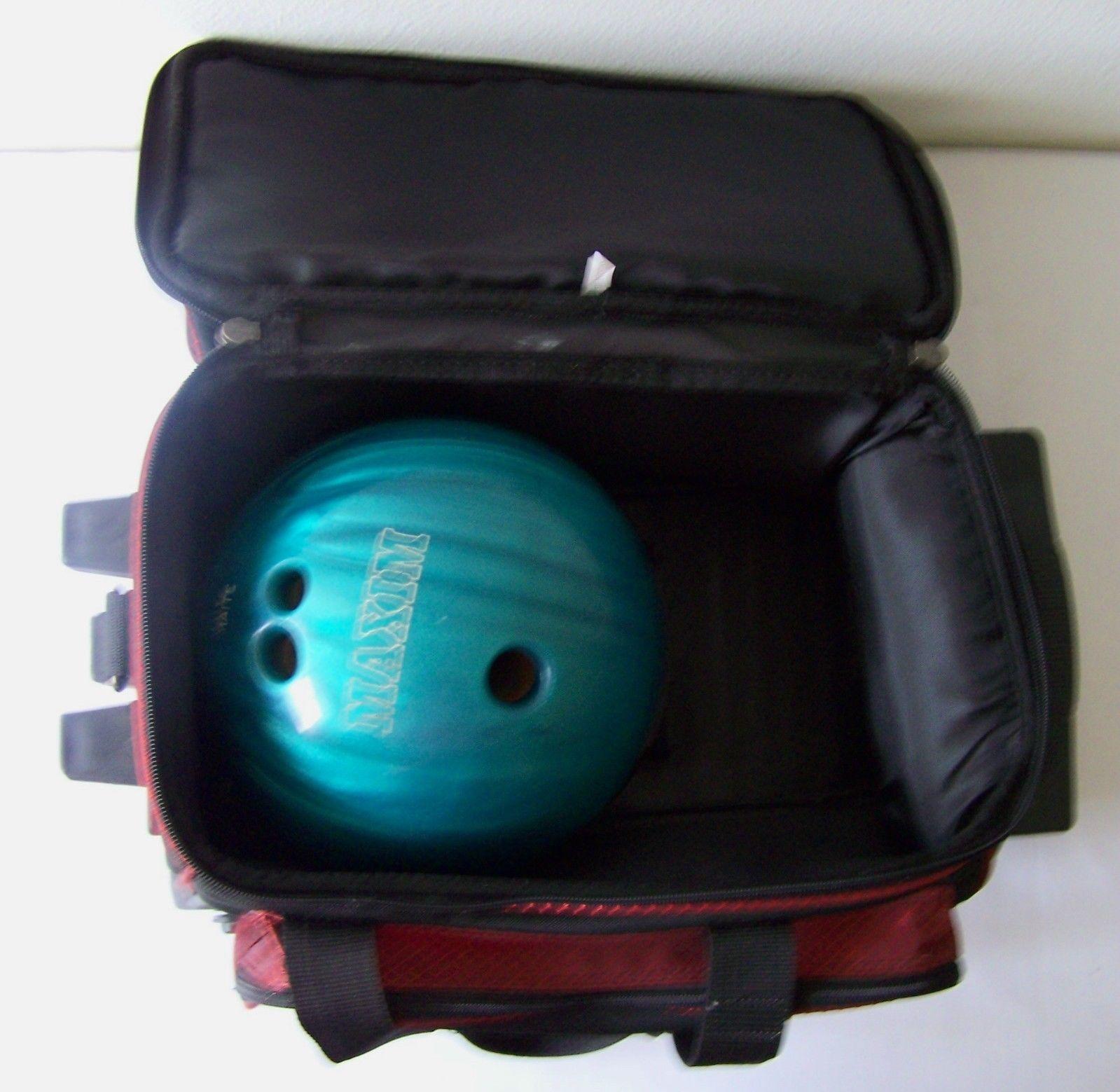 Ebonite Maxim Bowling Ball Turquoise Blue and 10 similar items