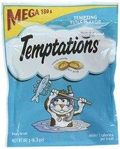 Temptations Cat Treats, Tempting Tuna Flavor, 6.3 Oz Pouch - $10.88