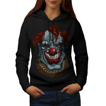 Creepy Horror Clown Scary Sweatshirt Hoody Mad Circus Women Hoodie - $21.99+