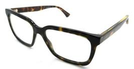 Gucci Eyeglasses Frames GG0160O 006 55-17-145 Dark Havana Made in Italy - $245.00