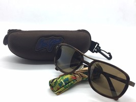 New Maui Jim Sunglasses Wanderer Matte Expresso HCL Bronze H289-19M - $173.76