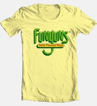 Funyons T-shirt retro 1980's vintage brand 100% cotton graphic yellow tee image 2