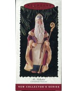 1995 Hallmark Keepsake Ornament - St Nicholas - 1st edition Christmas Vi... - $5.93
