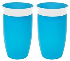 Munchkin Miracle 360 Sippy Cup, Blue, 10 Ounce, 2 Count - $14.98