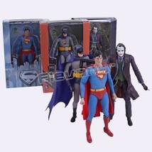 NECA DC Comics Batman Superman The Joker PVC Action Figure Collectible T... - $39.99