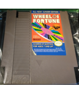 Wheel of Fortune Junior Edition Nintendo Nes Tested Works Great - $7.49