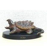 Agatsuma Kaiyodo ALLIGATOR SNAPPING TURTLE animal figure - $551,22 MXN