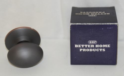 Better Home Products 51310B Dummy Egg Knob Design Oil Rubbed Bronze