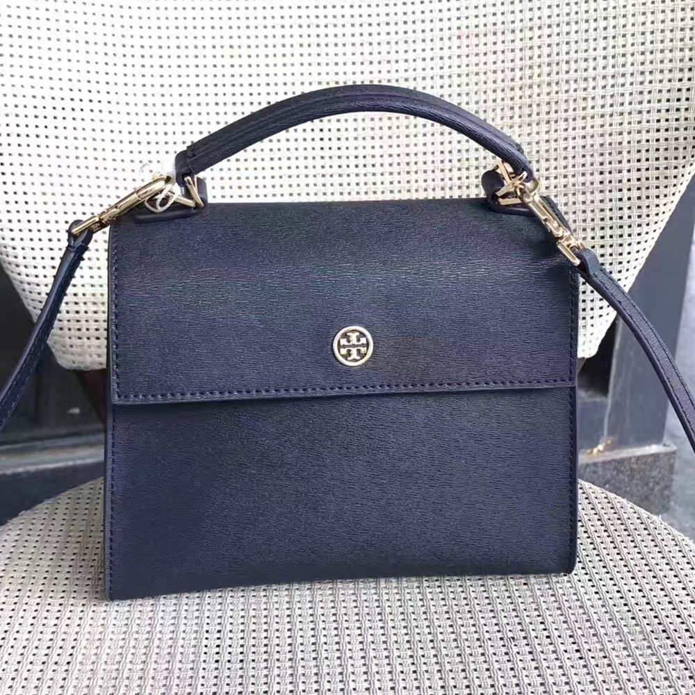 4b23e6017bdd Tory Burch Parker Small Leather Satchel and similar items. Img 0055