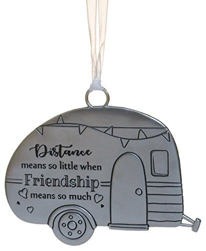 Primary image for Life ie Beautiful Inspirational Zinc Ornament by Ganz- Friendship Means Much