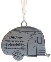 Life ie Beautiful Inspirational Zinc Ornament by Ganz- Friendship Means Much
