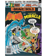 The Brave and the Bold Comic Book #128 DC Batman and Mister Miracle 1976... - $7.14