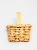 1989 Unsigned Longaberger Resin Mini Basket Pin - $14.39