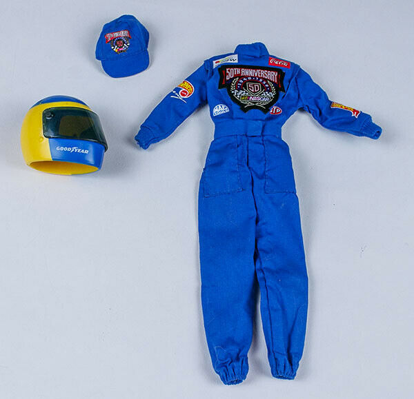 Primary image for NASCAR 50th ANNIVERSARY BARBIE DOLL OUTFIT COLLECTOR EDITION