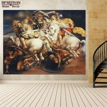"Leonardo Da Vinci ""Battle of Anghiari"" HD print on canvas wall picture 3... - $29.69"