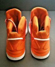 Adidas Men B38925 D Rose 7 Boost Primeknit Basketball Shoe Orange/White Size 16 image 4