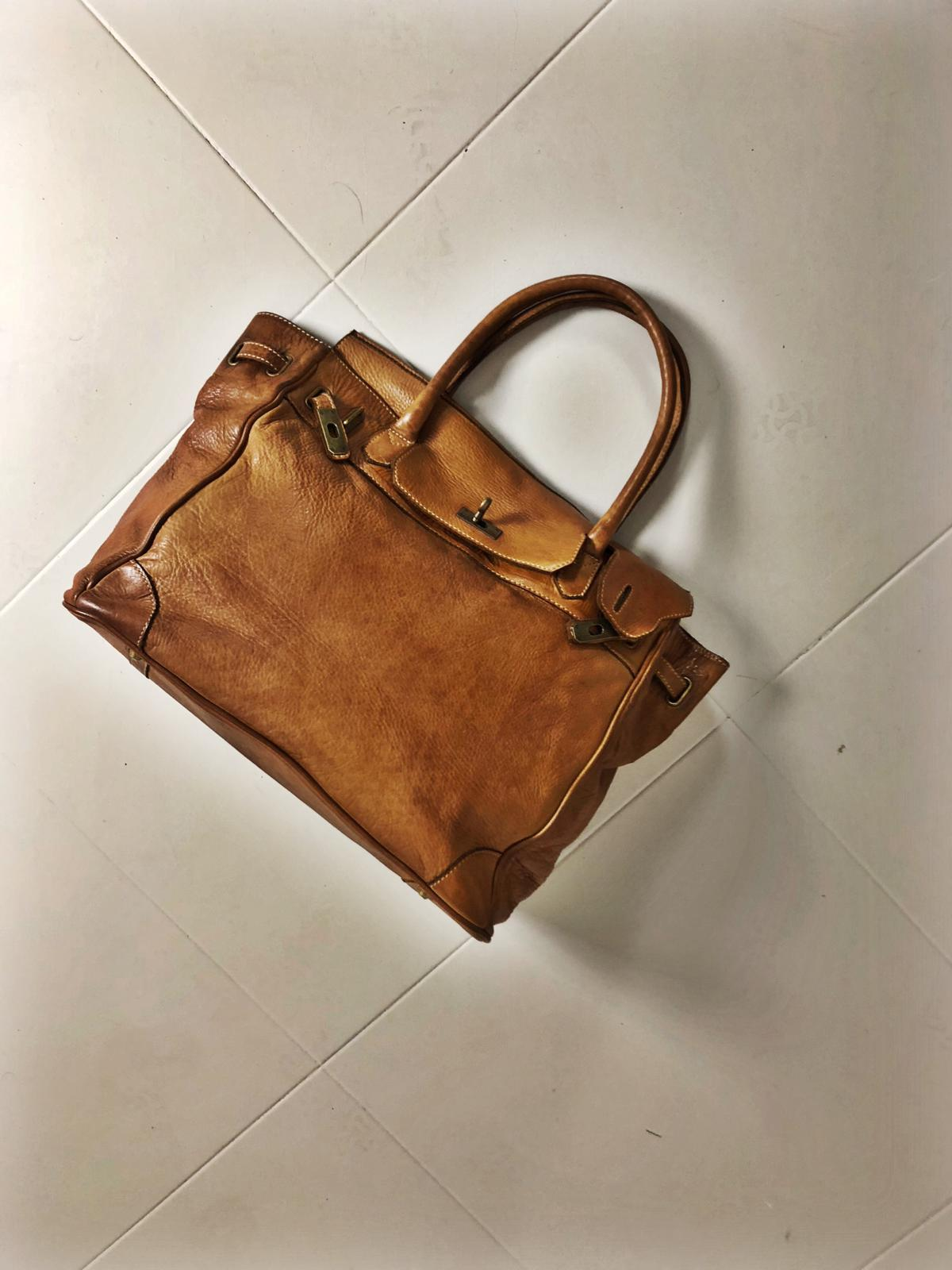 CLOSER BAG handmade leather bag image 4