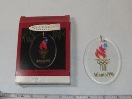HALLMARK Keepsake Ornament Atlanta The Olympic Spirit  Acrylic 1996 pre-... - $11.47