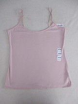 Old Navy Women Top XL Pink Solid Adjustable Straps Fitted  18137 - $6.90